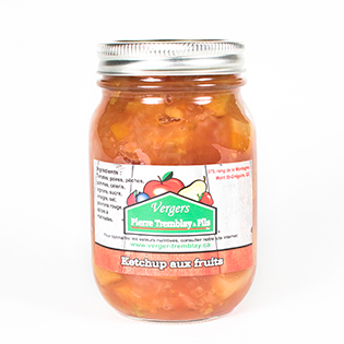 Fruit ketchup